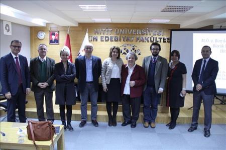 Üniversitemiz Hitit Uygarlığı Uygulama ve Araştırma Merkezi Konferansları Gerçekleştirildi