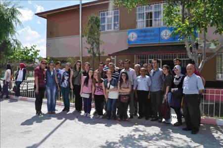 Sungurlu MYO Öğrencileri Engelli Öğrencilerle Birlikte Gökyüzünü Boyadılar…