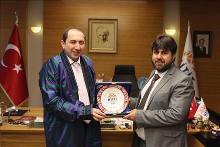 Khurasan Üniversitesi Rektöründen Üniversitemize Ziyaret