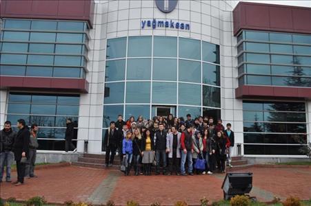 Sungurlu MYO Öğrencilerinden YAĞMAKSAN'a Teknik Gezi