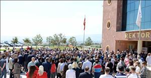 Üniversitemizde Rektörlük Devir Teslim Töreni Gerçekleşti