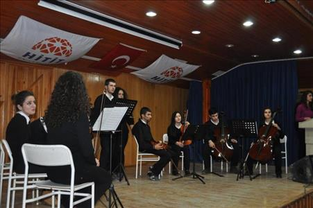 Sungurlu MYO'da Müzik Dinletisi Düzenlendi