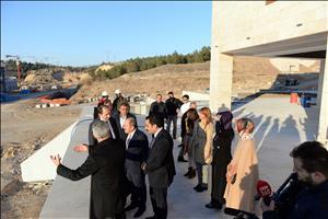 AK Parti Çorum İl Başkanı Karadağ ve Yönetim Kurulundan Üniversitemize Ziyaret