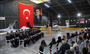 Rektörümüz, Ay-Jet 65. Dönem Mezuniyet Törenine Katıldı