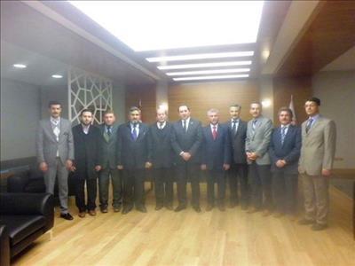 İlahiyat Fakültesi Arap Dili Öğretim Elemanlarından Rektörümüze Ziyaret