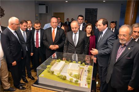 Çalışma ve Sosyal Güvenlik Bakanımız Ahmet Erdem Üniversitemizi Ziyaret Etti