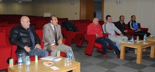 Üniversitemizde, Üniversitelerarası Futbol 2. Ligi'nin Teknik Toplantısı Gerçekleştirildi