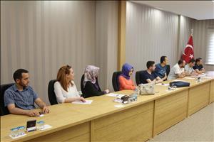 HİTÜ Çocuk Üniversitesi Değerlendirme Toplantısı Yapıldı