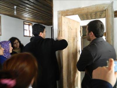 Üniversitemiz İskilip M.Y.O. Öğrencileri Etnografya Müze Binası Restorasyonuna Başladı