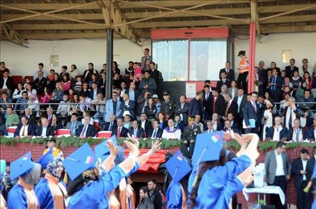Graduation at Hitit University