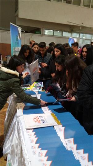 Ankara'da Üniversite Tanıtım Fuarına Katıldık