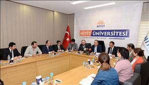 Milletvekilimiz Ceylan ve Rektörümüz Prof. Dr. Alkan Basın Mensuplarıyla Bir Araya Geldi