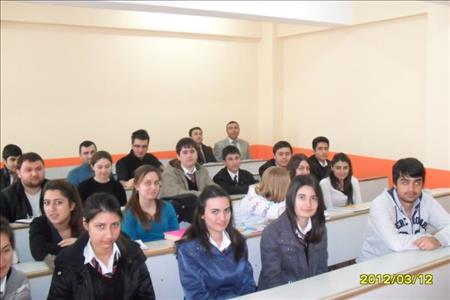 Çorum Fen Lisesi Öğrencileri Kimya Bölümü Derslerine Katıldı