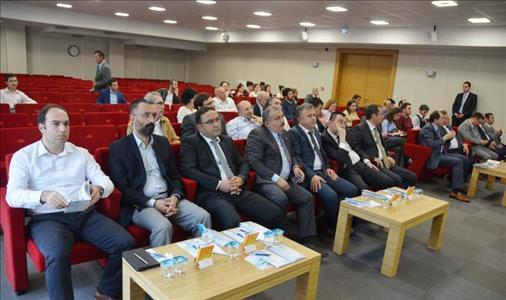 KOSGEB AR-GE İnovasyon Destekleri ve Üniversite Sanayi İşbirliği Konulu Konferans Verildi