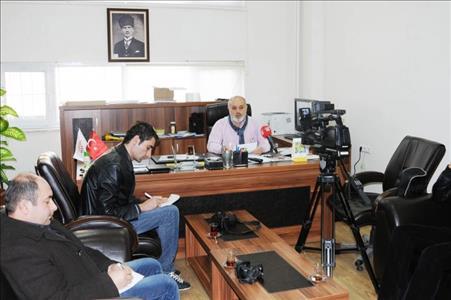 BESYO Müdürü Doç. Dr. Faruk YAMANER Basın Toplantısı Düzenledi