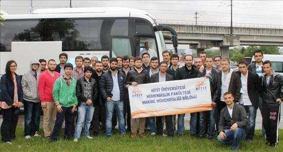 Öğrencilerimiz SODEX 2014 Fuarına Teknik Gezi Düzenlendiler