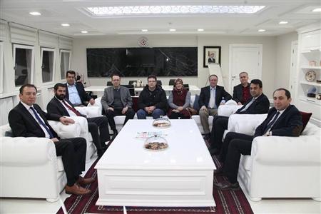 Üniversitemiz ile Süleyman Demirel Üniversitesi Arasında İşbirliği Protokolü İmzalandı