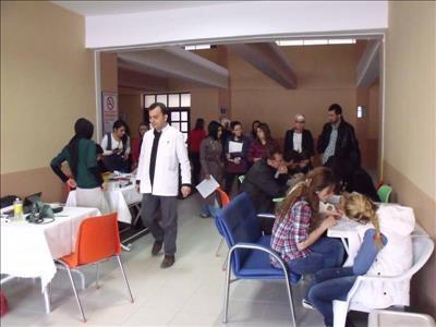 Üniversitemiz Osmancık Ömer Derindere Meslek Yüksekokulu'ndan Kan Bağışı