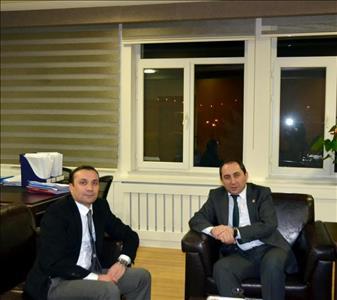 Rektörümüzden Türksat A.Ş.'ye Ziyaret