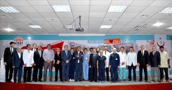 """""""2. Yılında Çorum'da Kardiyoloji ve Kardiovasküler Cerrahi"""" Adlı Etkinlik Gerçekleştirildi"""