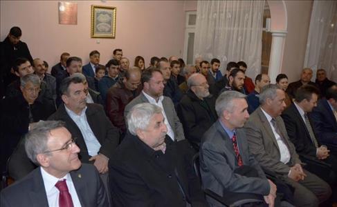"""Rektörümüz """"Yeni Türkiye'de Üniversitelerin Değişen Misyonu"""" Konulu Konferans Verdi"""