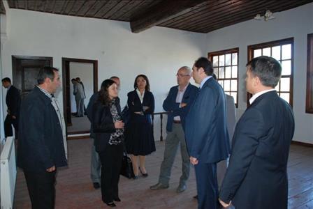 Rektörümüz Prof. Dr. ALKAN Boğazkale ve Hattuşa'yı Ziyaret Etti