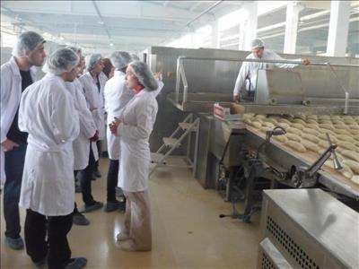 Gıda Firmalarına Mühendislik Öğrencilerinden Teknik Gezi