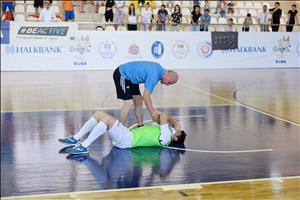 Final for 11th European Universities Futsal Championship