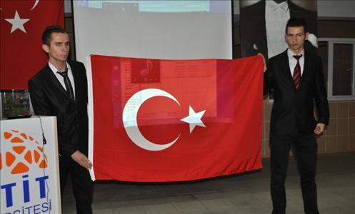 Osmancık Ömer Derindere Meslek Yüksekokulunda 12 Mart İstiklal Marşının Kabulü Coşkuyla Kutlandı