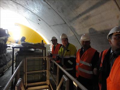 Üniversitemiz Rektörü Prof. Dr. ALKAN, Kargı Hidroelektrik Santral (HES) İnşaatını Ziyaret Etti