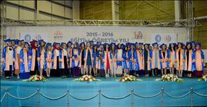 2015-2016 Eğitim Öğretim Yılı Mezuniyet Törenimizi Büyük Bir Coşkuyla Kutladık