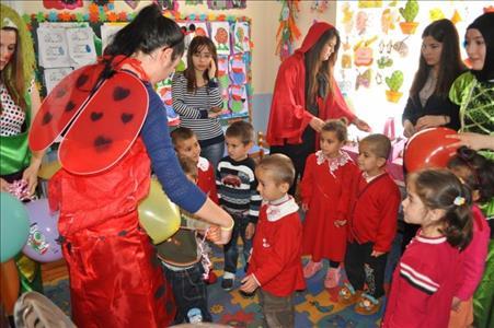 Sungurlu MYO Öğrencileri Köy Okullarında