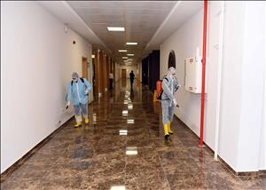 HİTÜ, Yeni Koronavirüs Salgınına Karşı Gerekli Tüm Tedbirleri Uyguluyor