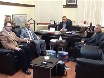 Üniversitemiz Öğretim Üyeleri Amasya Üniversitesi'ne Ziyarette Bulundu