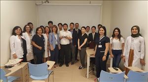 Üniversitemiz Sağlık Alanındaki Bilgi Birikimini Bilim İnsanlarıyla Paylaşıyor