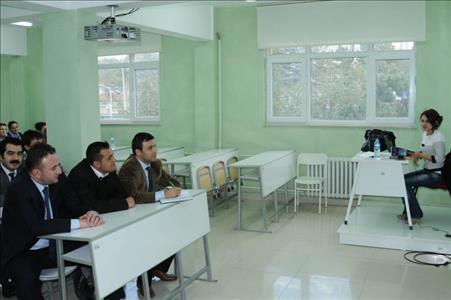 Aday Memurlar İçin Temel Eğitim Programı Yapıldı