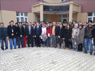 Üniversitemiz Harita ve Kadastro Programı Öğrencileri ESRİ TÜRKİYE Firmasıyla Buluştu