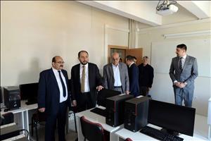 Rektörümüz Kargı Yerleşkesini ve Osmancık MYO'yu Ziyaret Etti