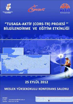 TKGM TUSAGA-Aktif Projesi Bilgilendirme ve Eğitim Etkinliği