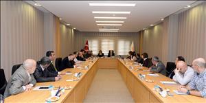Üniversitemiz Kalite Komisyonu Üyeleri Toplandı