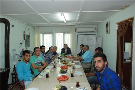 Rektörümüz Ortaköy Şapinuva Kazısını Ziyaret Etti