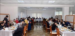 Rektörümüz Prof. Dr. Alkan Engelli Öğrencilerimiz ile Bir Araya Geldi