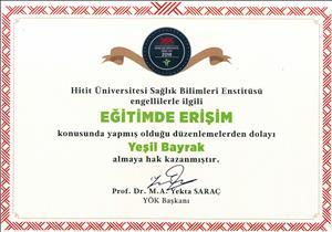 Üniversitemizden Engelsiz Üniversite Ödülleri'nde Önemli Başarı