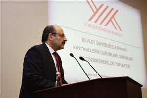 Devlet Üniversitelerindeki Hastanelerin Durumları, Sorunları ve Çözüm Önerileri Toplantısı