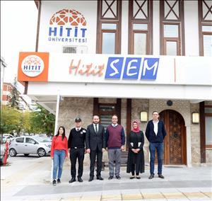 Rektörümüz HİTİTSEM'i Ziyaret Etti