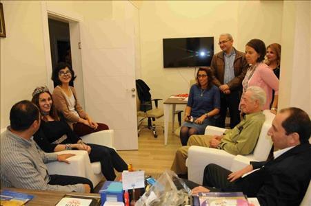 Rektörümüz HİTİTSEM'de Miniklerle Bir Araya Geldi