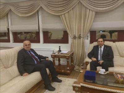 Rektörümüzden KTÜ Rektörü Prof. Dr. Süleyman BAYKAL'a Ziyaret