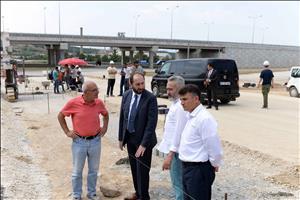 Kuzey Kampüsümüzde Beton Yol İmalatına Başlandı