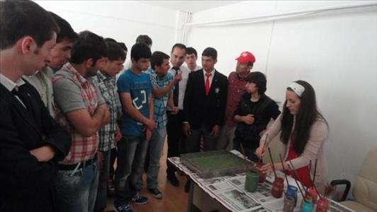 Çorum Özel Eğitim Meslek Lisesi Öğrencileri İskilip MYO'yu Ziyaret Etti