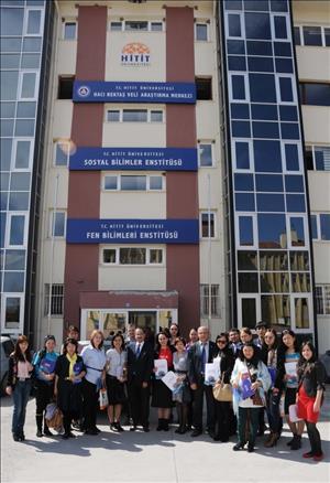 Yabancı Uyruklu Lisansüstü Öğrencilerimiz Üniversitemizde Çalışmalarını Tamamladı